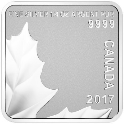 2017 Silver Maple Leaf Puzzle