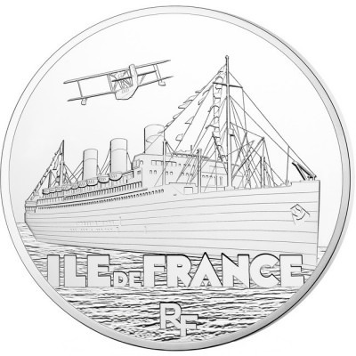 Great French Ships: The Ile de France