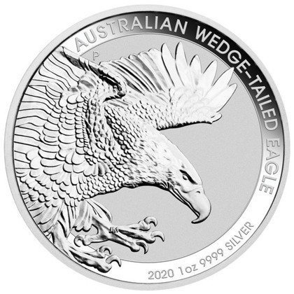 Moneta srebrna 1oz Australijski Orzeł / Wedge-Tailed Eagle 2020