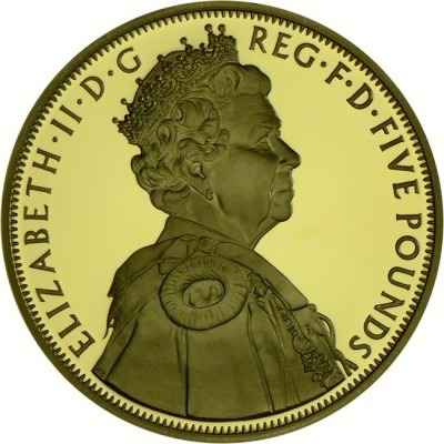 The Queen´s Diamond Jubilee 1952 - 2012 - gold-pla