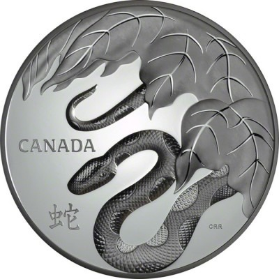 Year of the Snake - 1 Kilo Silver Coin